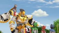 魔方金刚之圣兽守护者第16话: 超酷的天鹰再次出现!