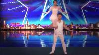 英国达人秀: 中国夫妻被嘲笑, 一段舞蹈让全场老外都站起来鼓掌!