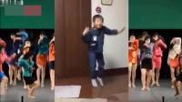 小学生演绎日本迪厅风舞蹈, 复古迪斯科, 美女小孩都很活力十足