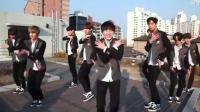 男生跳女团舞也很不错哦 AOA师弟团模仿怦然心动