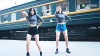 两位美女跳c哩c哩舞, 超好看! 好性感!