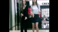 俄罗斯长腿大美妞跳全网最火舞蹈C哩C哩舞, 这身材
