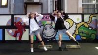 宅舞: 日本两个萌妹子跳的宅舞! 超级萌!