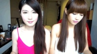 两位台湾大学生小妹妹翻唱《海阔天空》, 听完第一句就爱上她们了