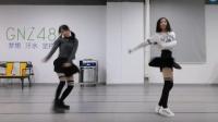女团成员跳C哩C哩舞 这才是真正的最美双人版