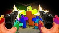 魔哒roblox虚拟世界 乐高方块人勇闯僵尸世界