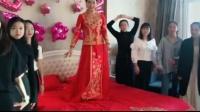 当新郎新娘遇上C哩C哩舞,也太魔性了 疯了