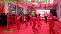 寒冬腊月乡村婚礼上的河津吴村女子舞《中国美》