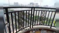 小区、楼盘锌钢阳台护栏具有高强度、高硬度、外观精美的优点?