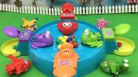 红果果超级飞侠视频 第一季 超级飞侠玩青蛙吃豆趣味游戏 158