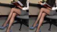 极品美女老板娘, 大冬天的穿丝袜着实迷人