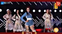 [娱乐百分百]迪丽热巴性感热舞大秀美腿《Despacito》2018跨年演唱会