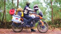 边境线冒险之旅第1集: 摩托骑行中越边境走私小道