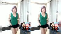 韩国美女主播 超短热裤热舞