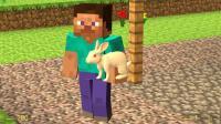 我的世界小温为什么捡了只兔子就不去干活了?
