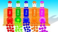 彩色圆珠趣味教学颜色