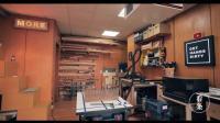 这是我见过科技含量最高的木工工作室, 看妹子用它们制作精美木凳