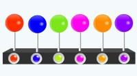 旋转棒棒糖趣味学颜色