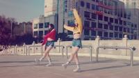 厉害了C哩C哩韩国美女街头JAZZ混合曳步舞版PANAMA