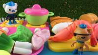 百变海底小纵队玩具 33 海底小纵队食玩厨房玩具蔬菜切切乐