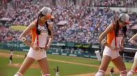 韩国啦啦队美女热舞 韩国棒球女星开球展示性感身材