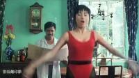 张敏跳健身舞, 实在太漂亮, 不愧是性感女神
