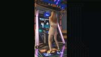 美女电玩城尬舞, 动作如此熟练似乎在夜场混过