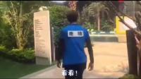 """鹿晗正在录节目, 突然有小朋友叫""""鹿晗"""", 啊! 他回答可爱死了!"""