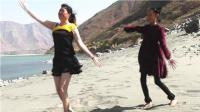 美多多广场舞: 春节沙滩旅游沙滩自由热舞-8