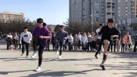 高校炫酷鬼步舞齐舞 太炸了 鬼步舞高手齐舞