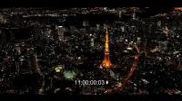 高清航拍, 日本东京  亚洲第一大都市精美夜景