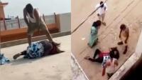 12岁女孩被父亲毒打 忍无可忍从顶楼跳下