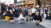 韩国街头偶遇明星尬舞, 小哥哥太妖娆了