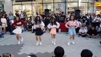 4位韩国小萝莉街头跳劲舞, 人气超韩国女团!