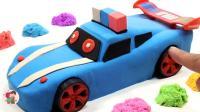 橡皮泥制作, 英文字母教孩子们认识颜色和数字, 精美汽车