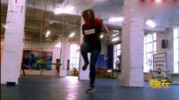 俄罗斯红发美女跳鬼步舞! 国外尬舞赛事参赛视频