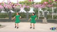 小慧广场舞《桃花运》16步恰恰双人跳时尚又好看
