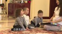网上非常火的萌娃视频, 三个孩子看见画笔非要抢, 马雅舒真是不容易啊!
