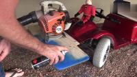 国外的爸爸动手能力超强, 把女儿的玩具车改装成电动车! 超酷!