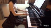 美女弹钢琴, 气质才华原来是可以兼得的!