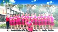 建群村广场舞16步兔子舞《赤裸离开》演示建群姐妹2018年最新广场舞带歌词