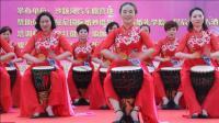 手鼓表演一爱我中华.中国美太和美女手鼓队2018.5.12.