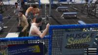 GTA5: 趣味测试, 把群殴你的路人引到肌肉男那里会发生什么?