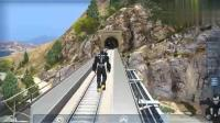 GTA5: 趣味模组测试当钢铁侠遇见火车是否能让火车停下来。