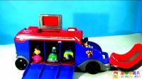 儿童玩具视频07: 汪汪队立大功, 莱德队长和可爱狗狗们的超酷任务巴士新玩法!