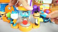 海底小纵队的超酷玩具游戏!