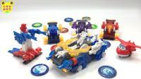 机甲兽神爆裂飞车玩具 2017 超级飞机侠玩爆裂变形飞车3巨岩VS御星神合体玩具 90