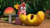 爆笑虫子 : 粉色美丽的小虫放了个屁, 原来美女也会放屁?