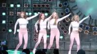 韩国女团跳《打糕舞》, 只因为开赛中世界杯打气