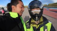 骑行川藏线到达理塘后队友摩托车坏了, 一百块钱卖给老板, 继续前行!